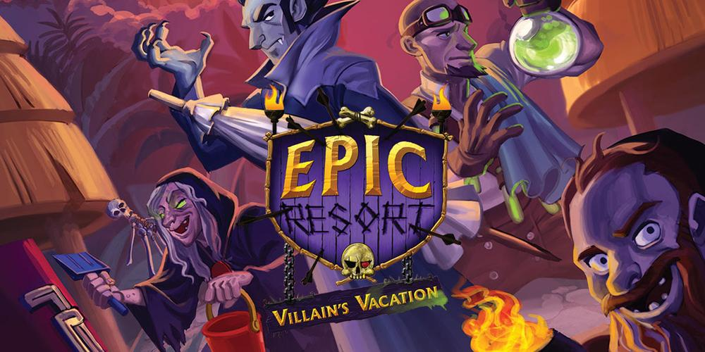 Kickstarter Tabletop Alert: Head to 'Epic Resort' for a 'Villain's Vacation'