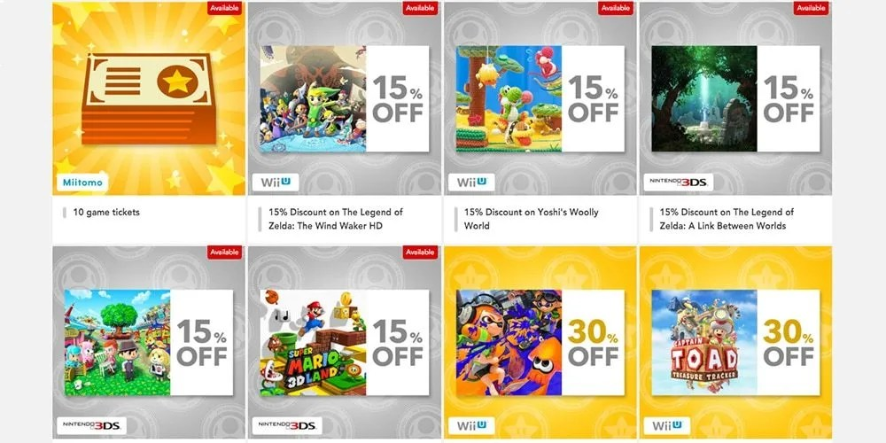 my nintendo rewards