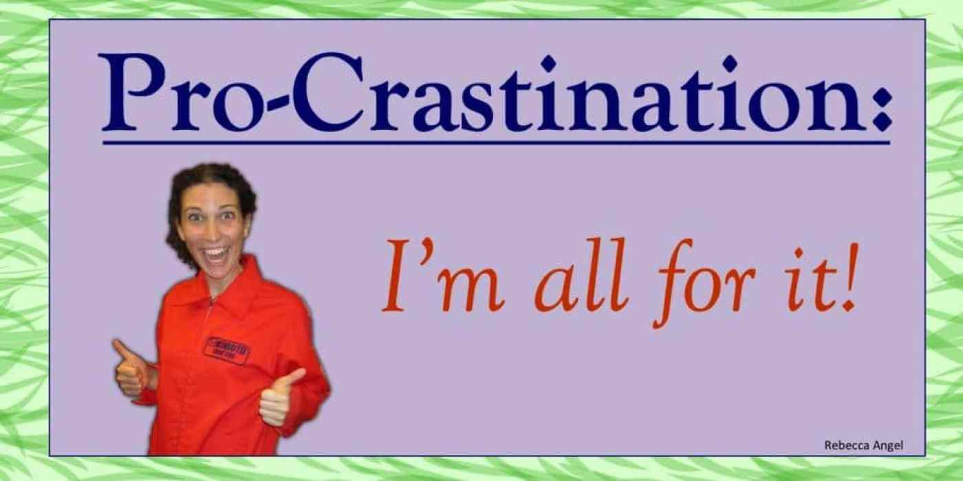 procrastination green