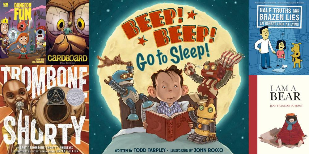 My Favorite Read-Aloud Books Right Now: April 2016