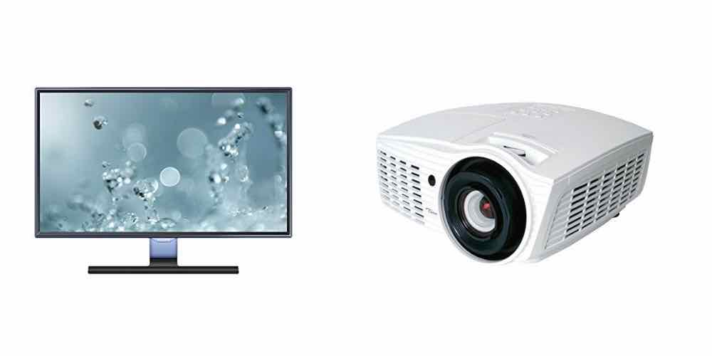 Big Deals on Refurbished Samsung Monitors and Optima Home Theater Projectors Today!