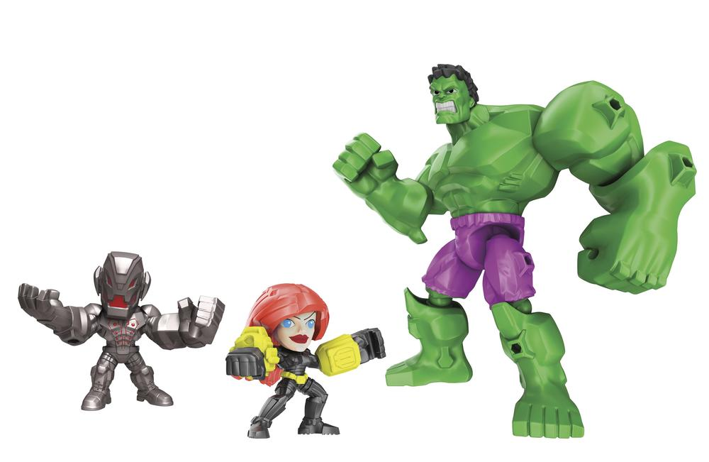 There's Natasha, in case you were wondering. Source: Hasbro.
