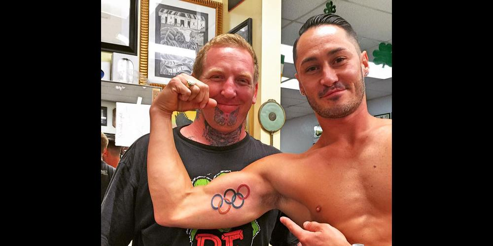 The Controversy Over Olympic Ring Tattoos