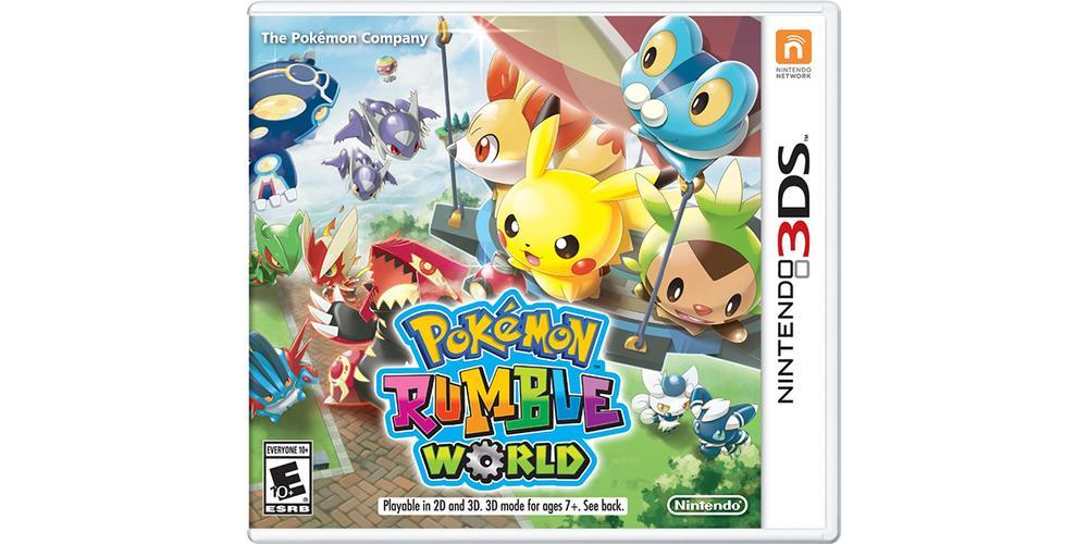 Formerly Freemium 'Pokémon Rumble World' Hits Retail Shelves