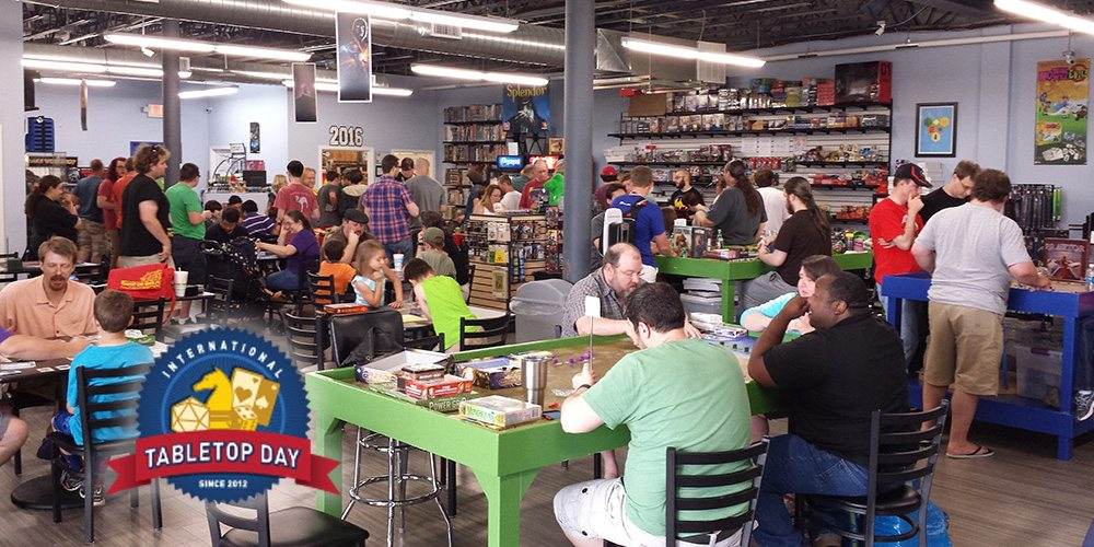 Meeple Madness: How I Spent My 2016 International Tabletop Day
