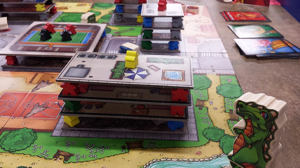 Time to eat some meeples in 'Terror in Meeple City.' Photo credit: Preston Burt
