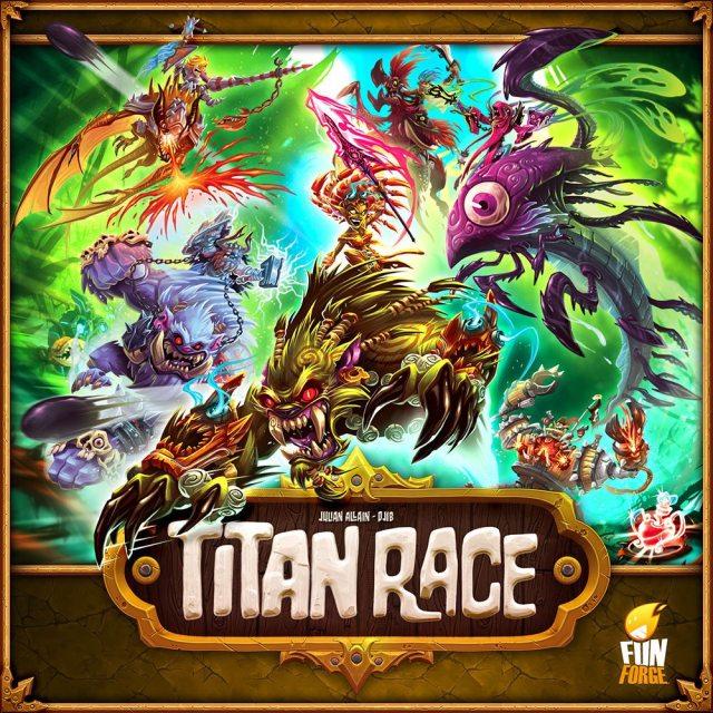 Titan Race cover