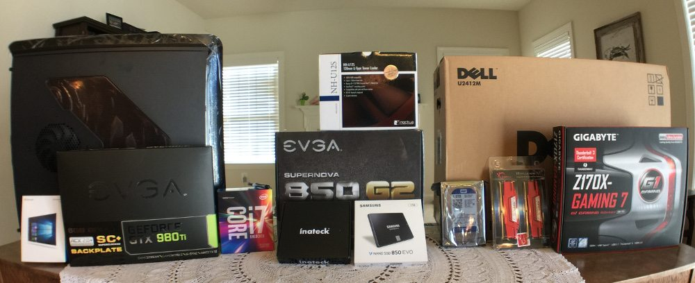 Building a PC for Oculus Rift and HTC Vive