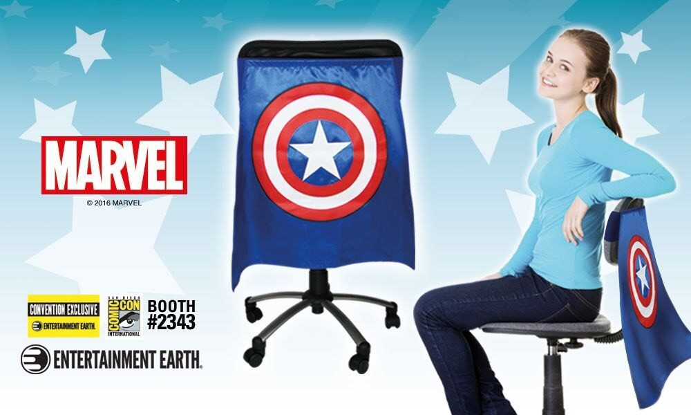 EXCLUSIVE Reveal for SDCC: Limited Edition Captain America Chair Cape