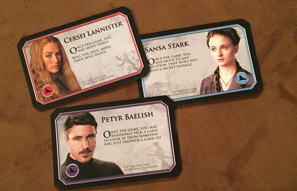 Clue Game Of Thrones Delivers Two Great Games In One Box Geekdad