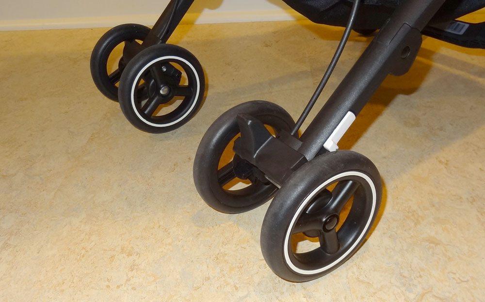 GB Pockit rear wheels