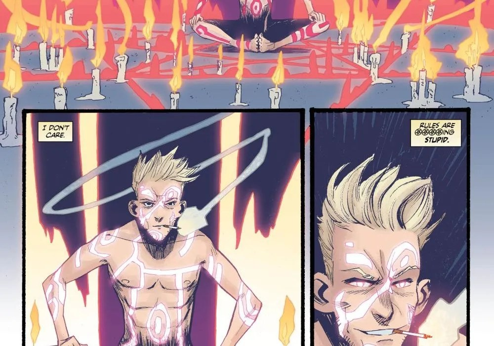Constantine the Hellblazer #13, image via DC Comics