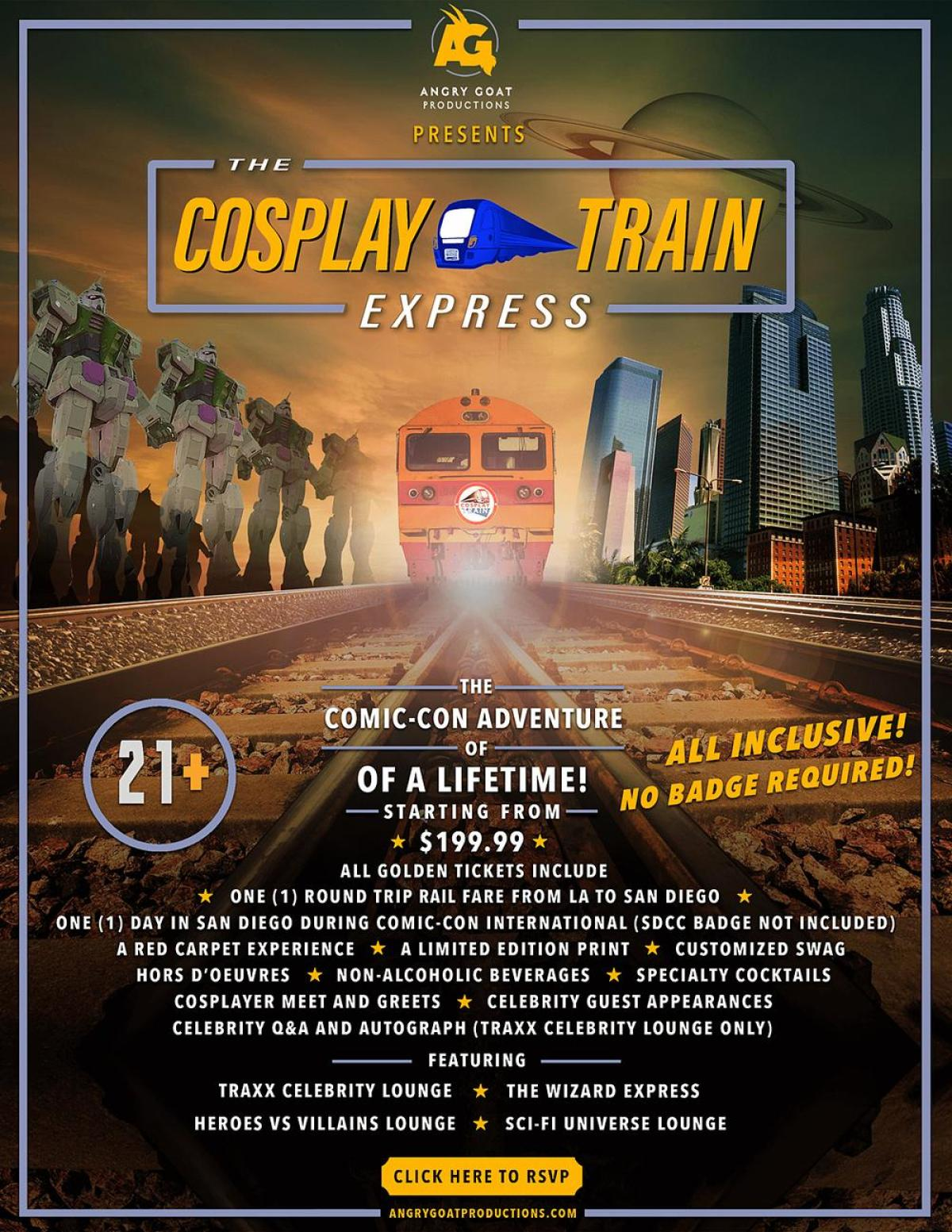 Cosplay Train Express