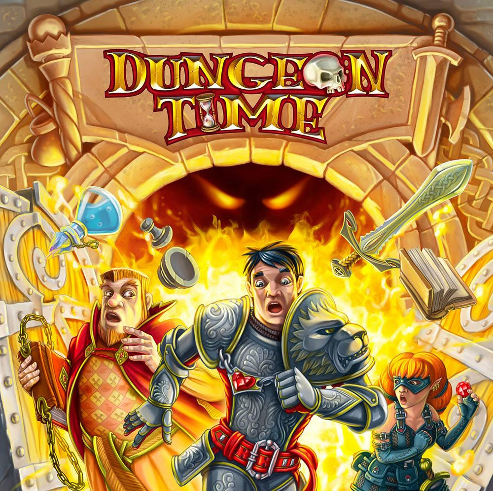 Dungeon Time cover