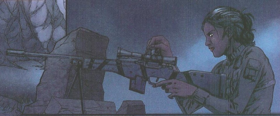 GI Joe Shooter Comic