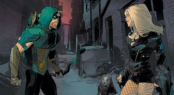 Staring at each other doesn't a relationship make, you two! Image via DC Comics.