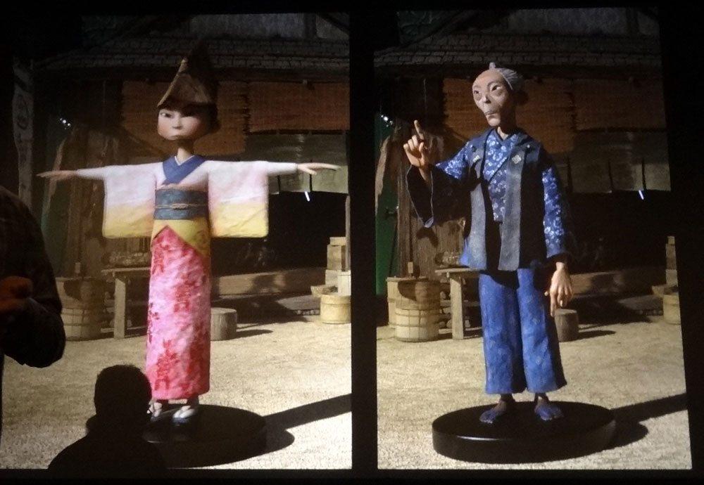 Laika digital puppet