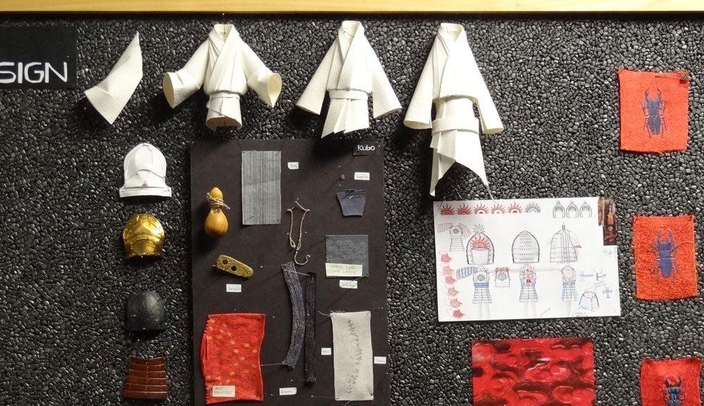 Kubo origami costume