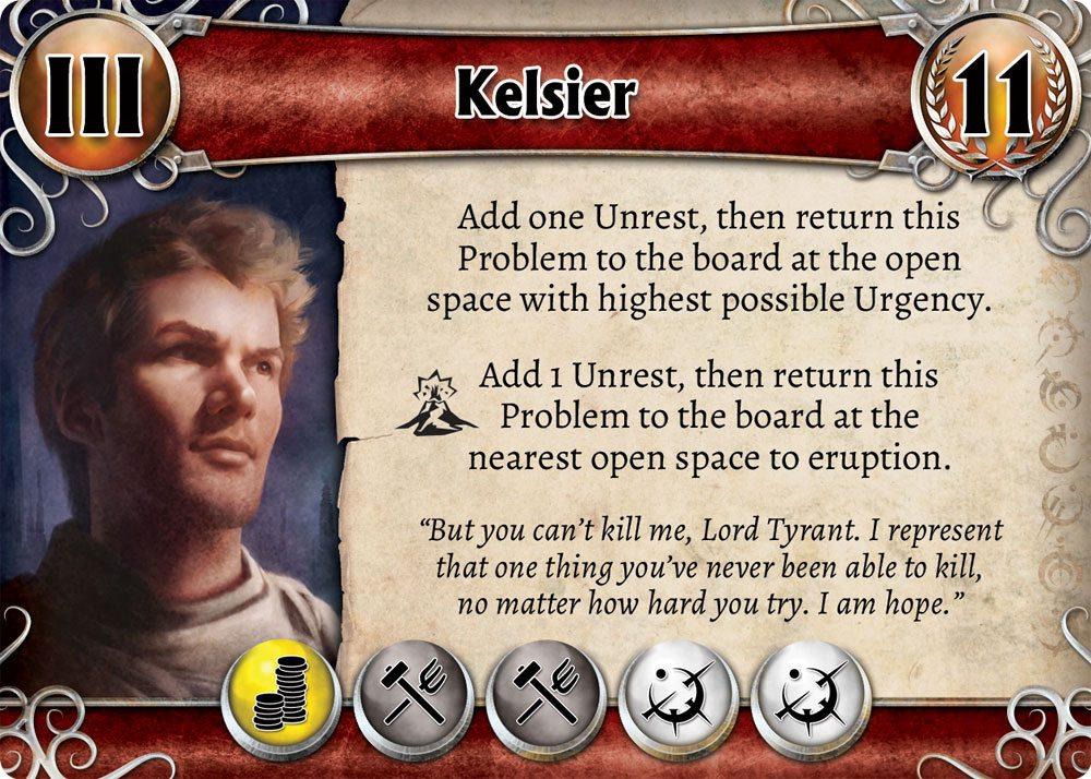 Mistborn Kelsier Problem Card