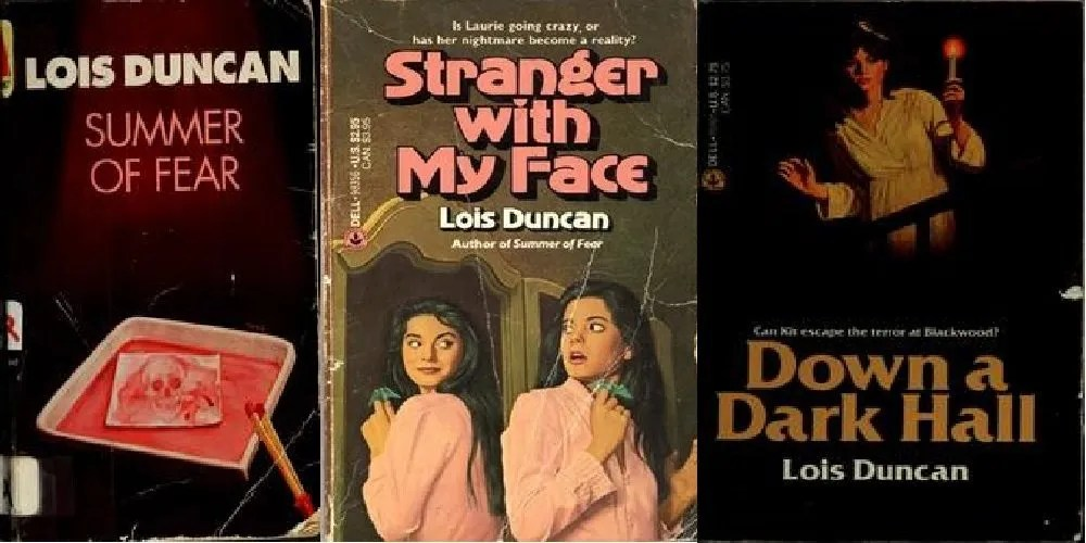 A few of my favorite Lois Duncan books in the editions I first read