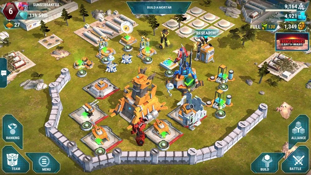 Transformers: Earth Wars Gameplay