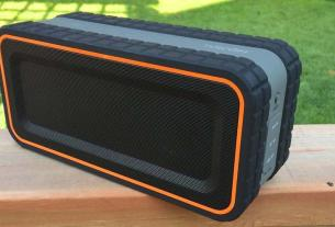 Turcom rugged Bluetooth speaker