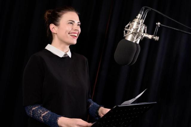 hayley atwell audible