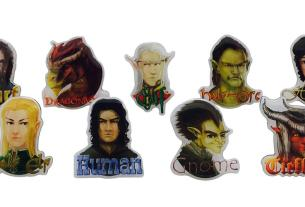 RPG race pins