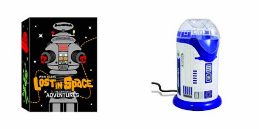 Get 'Lost in Space' and Pop Popcorn with R2D2 With Today's Daily Deals!