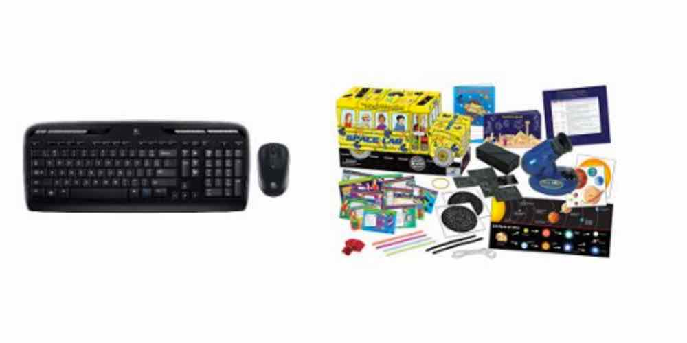 Save on Logitech Mice and Keyboards, and 'The Magic School' Bus Space Lab – Daily Deals!