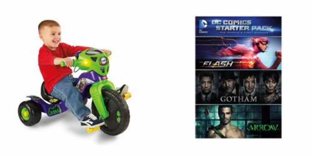 Daily Deals on Kids' Riding Toys, DC Comics TV Shows