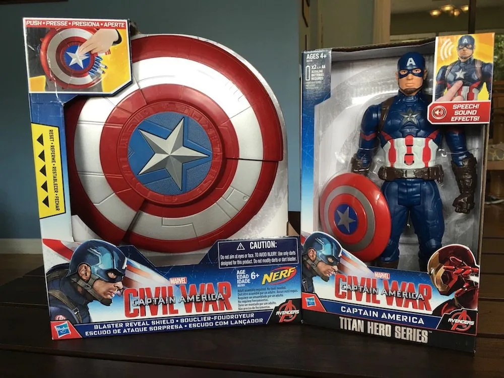 Captain America Birthday Giveaway