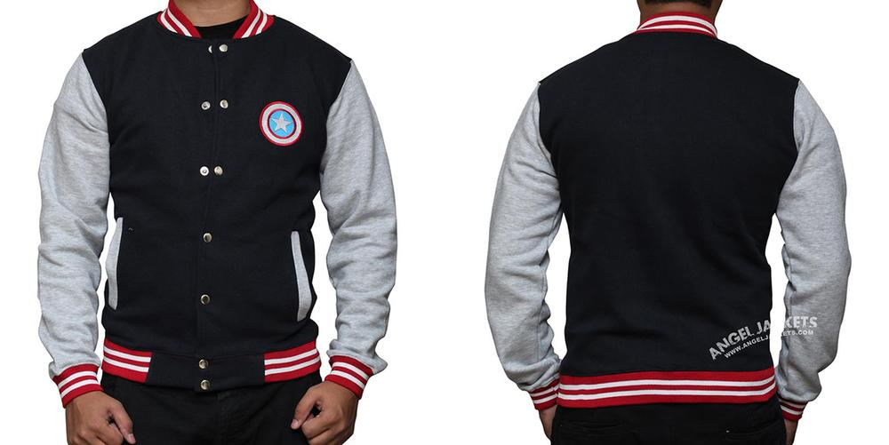 Captain America letterman