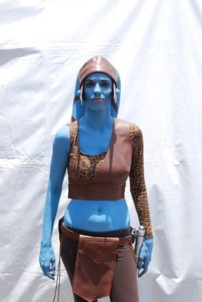 Jedi Master Aayla Secura AKA GeekMom Dakster Sullivan  Image: Dakster Sullivan