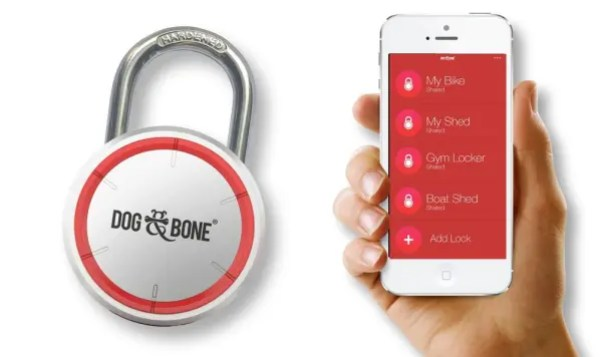 Dog & Bone LockSmart, Bluetooth padlock video review