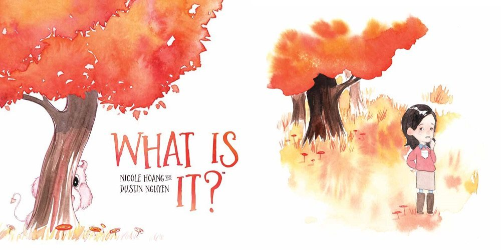 KaBOOM! Jumps Into Children's Picture Books with 'What Is It?'