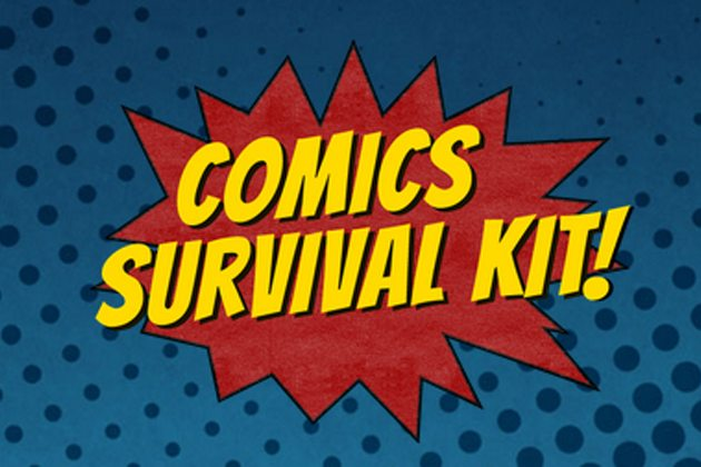 Logo copyright Comics Survival Kit Tumblr