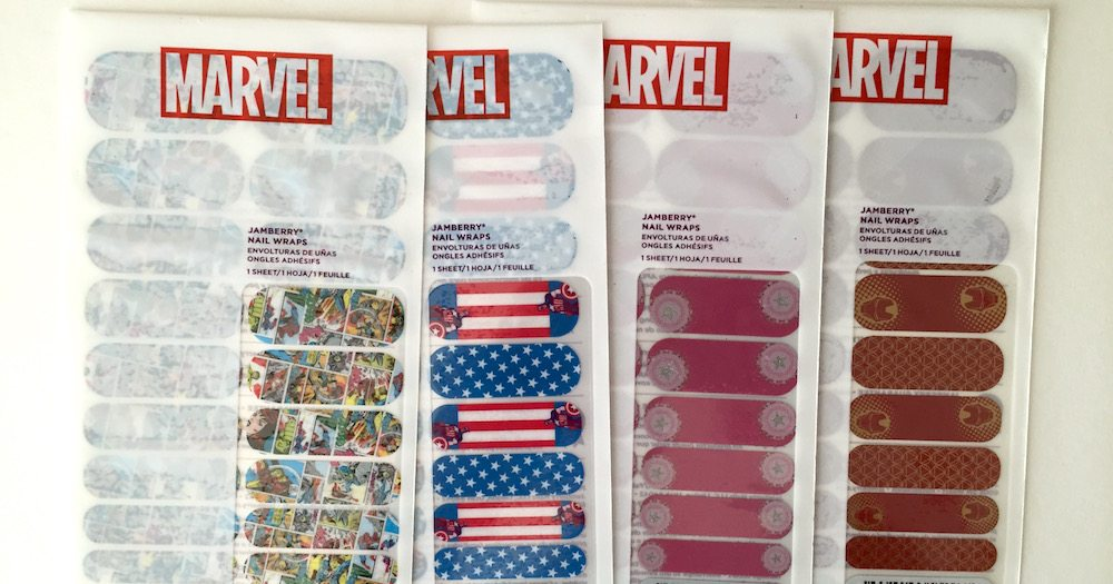 Hands-On With Jamberry's New Marvel Nail Wraps