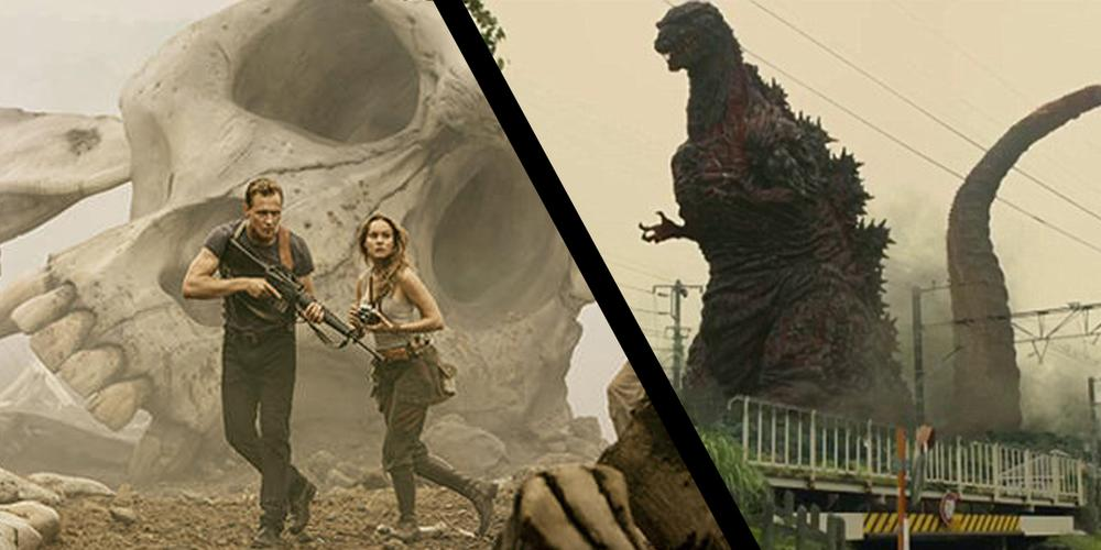 Kaiju Rule in 'Kong: Skull Island' and 'Shin Godzilla' Trailers