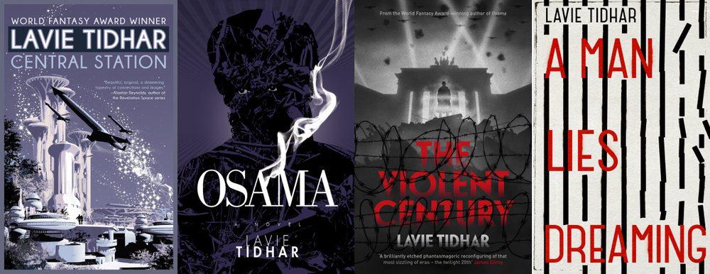 Lavie Tidhar Covers