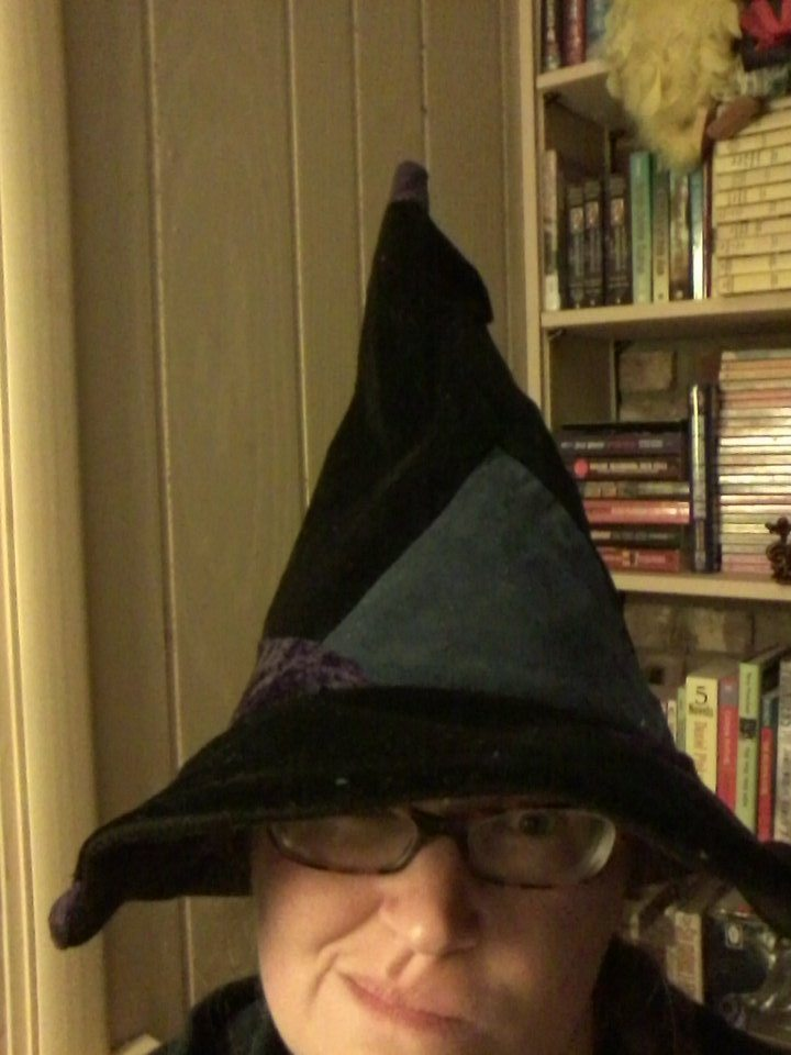 The witch hat I made