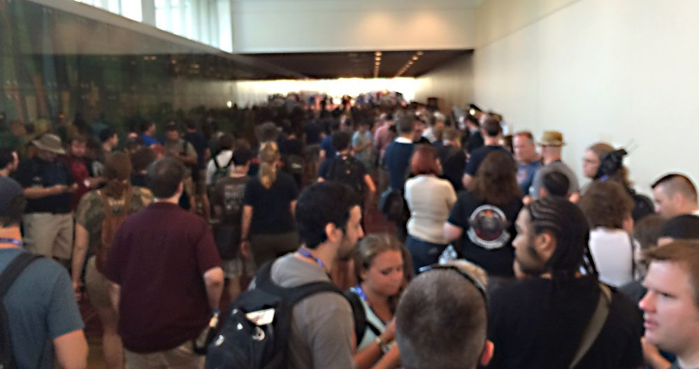 Gen Con Early Access line