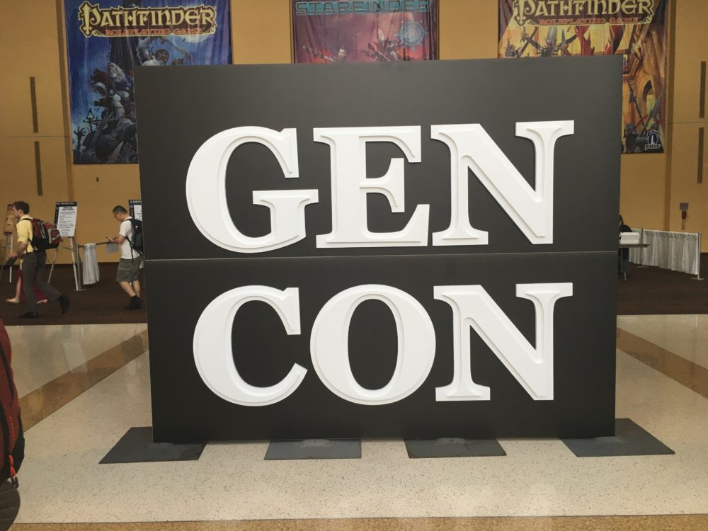 My Gen Con 2016 Wrap-Up and Notes