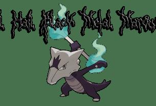 Black Metal Marowak