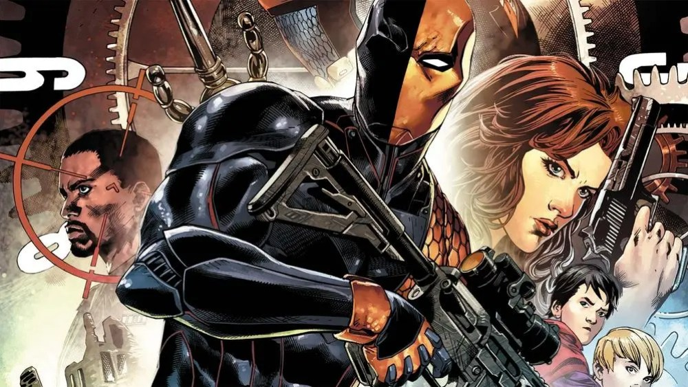 Deathstroke rebirth images
