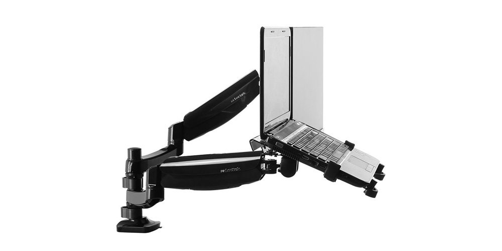 Giveaway: Loctek Dual Arm Monitor and Laptop Mount