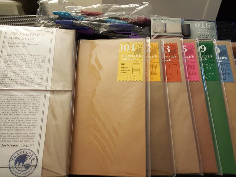 How I Manage Anxiety and Life With My Midori Traveler's Notebooks