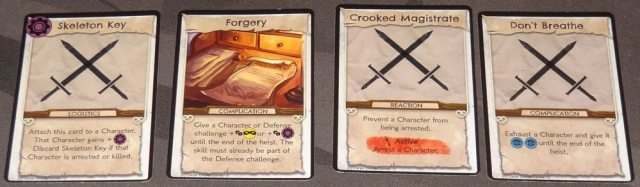No Honor Among Thieves Scheme cards