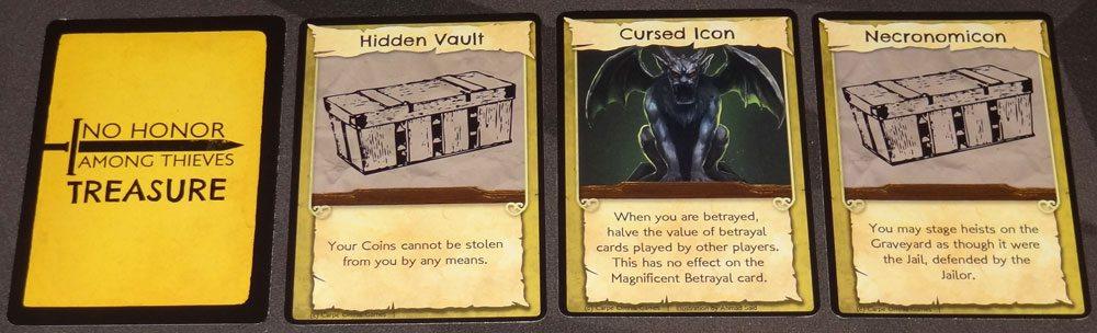 No Honor Among Thieves Treasure cards