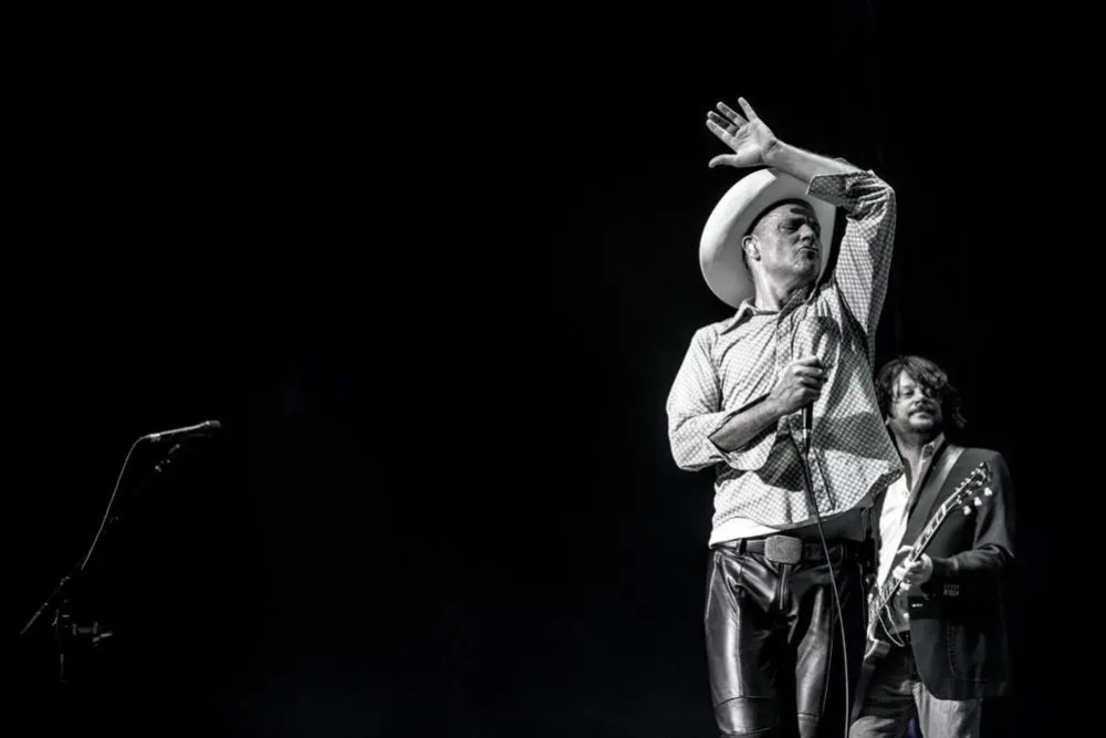Gord Downie and Paul Langlois in Montreal. Photo by David Bastedo